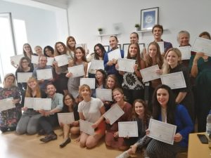 TtMadrid TEFL Course Graduation - September 2019