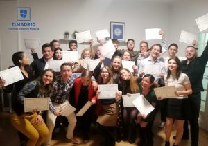 TtMadrid TEFL Course Graduation - October 2019