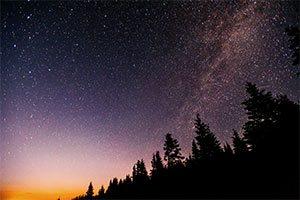 Las Perseidas Lluvia de Meteoritos
